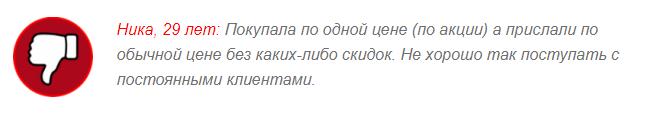 ОТРИЦАТЕЛЬНЫЕ ОТЗЫВЫ О «Флатузан»1