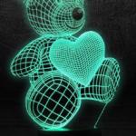 Отзывы о 3D светильнике: Развод или нет