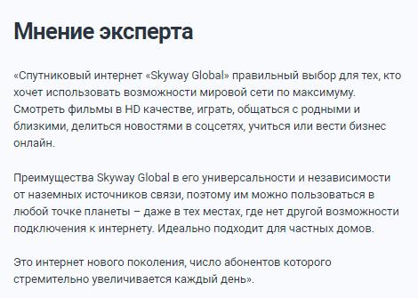 SkyWay Global отзывы специалистов 1