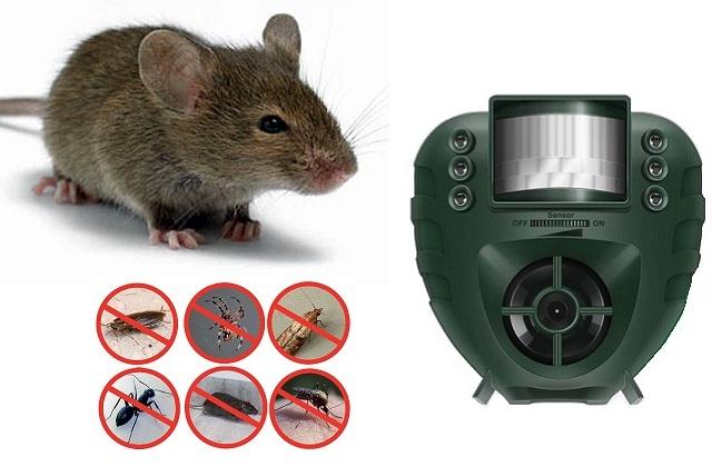 Умный ультразвуковой отпугиватель грызунов и насекомых PestOff