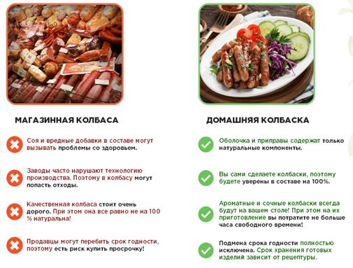 Отзывы специалистов о Домашних колбасках2
