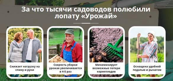 ОТЗЫВЫ СПЕЦИАЛИСТОВ Лопата Урожай2
