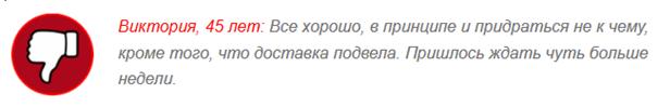 ОТРИЦАТЕЛЬНЫЕ ОТЗЫВЫ о «Миковизин»