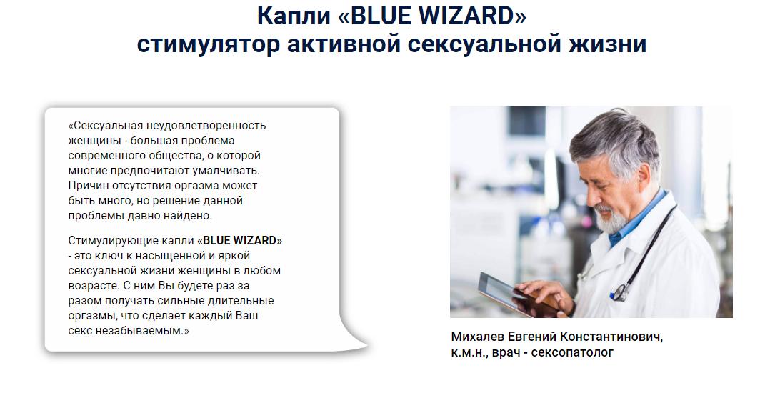 Blue Wizard отзывы специалистов 1